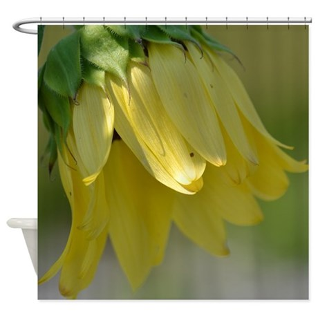 Pretty Sunflower Shower Curtain