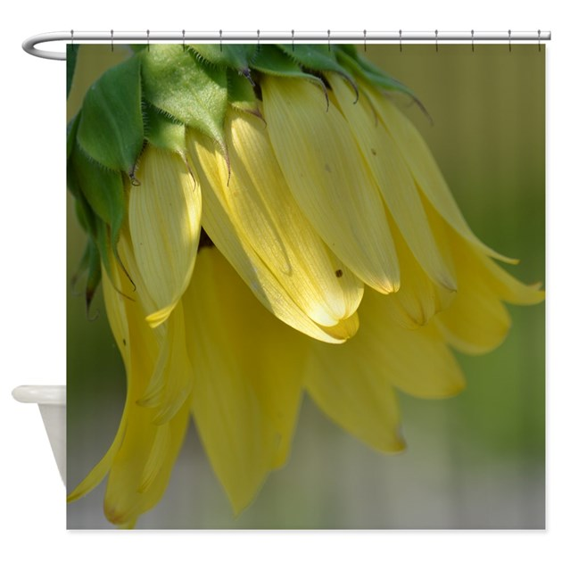Pretty Sunflower Shower Curtain By Be Inspired By Life