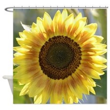 Summer Sunflower Shower Curtain