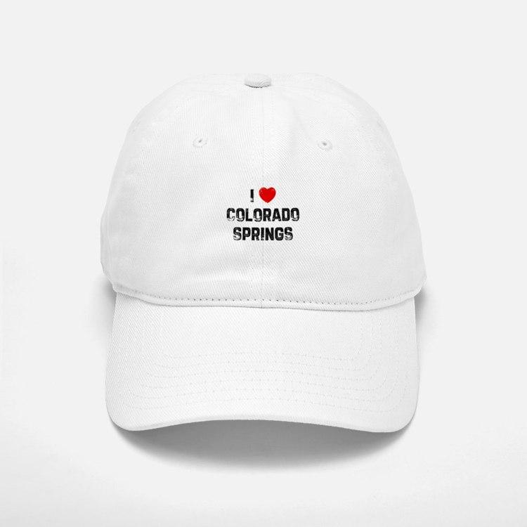I * Colorado Springs Baseball Baseball Cap