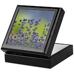 Lavender Flowers Keepsake Box