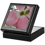 Pink Dogwood Flower Keepsake Box