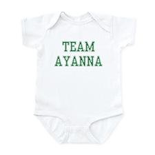 TEAM AYANNA  Infant Bodysuit