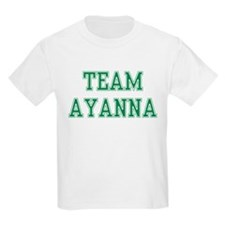 TEAM AYANNA  Kids T-Shirt