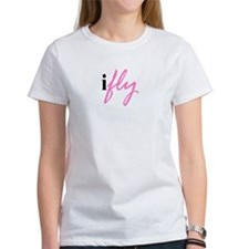 I Fly (pink) Tee