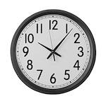 Large Standard Wall Clock