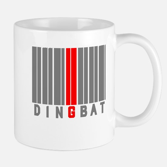 DINGBAT - BARCODE Small Mug
