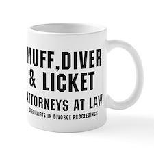 MUFF, DIVER LICKET - ATTORNEYS AT LAW, Small Mug