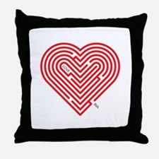 I Love Ina Throw Pillow