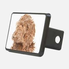 Chocolate Labradoodle 5 Hitch Cover