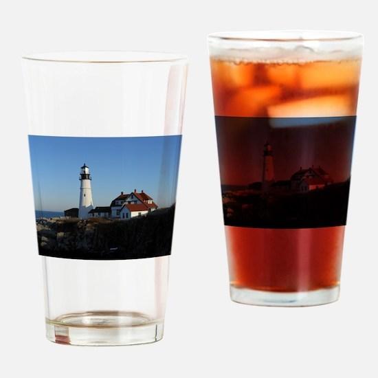 Cool Portland headlight Drinking Glass