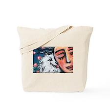 Eskie kiss Tote Bag