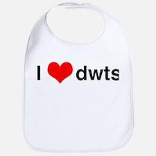 I Heart DWTS Bib
