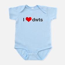 I Heart DWTS Body Suit