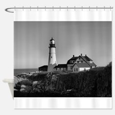 Unique Lighthouse Shower Curtain