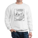 Genetics Determine Pear Shape Sweatshirt
