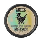 Independent Aries Large Wall Clock