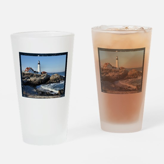 Unique Portland headlight Drinking Glass