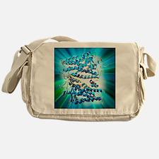 Rhodopsin protein molecule - Messenger Bag