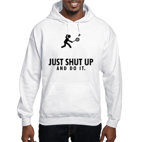Badminton Hooded Sweatshirt