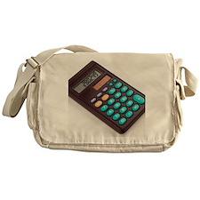 Solar-powered calculator - Messenger Bag