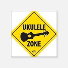 Ukulele Zone Sticker