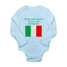 Italian Proverb Two Sides Body Suit
