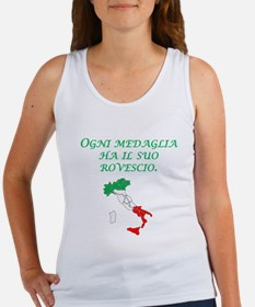 Italian Proverb Two Sides Tank Top