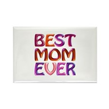 Best Mom Ever - Fabspa Rectangle Magnet (100 Pack)