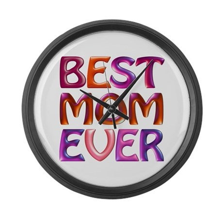 Best Mom Ever - fabspark colorful 3D txt -4K BIG L