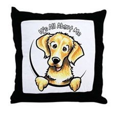 Golden Retriever IAAM Throw Pillow