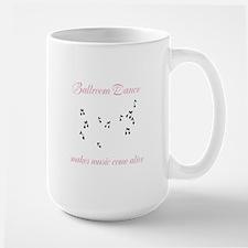 Ballroom Dance Notes Mug