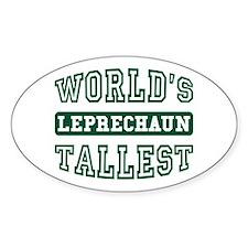 World's Tallest Leprechaun Decal