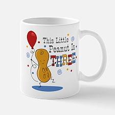 Little Peanut 3rd Birthday Mug