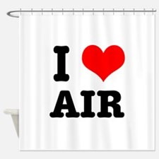 AIR.png Shower Curtain