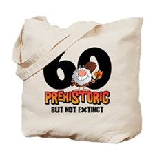 Prehistoric 60th Birthday Tote Bag