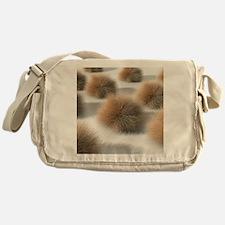 Fungal skin infection, artwork - Messenger Bag