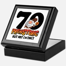 Prehistoric 70th Birthday Keepsake Box