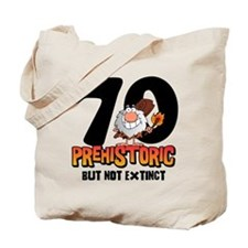 Prehistoric 70th Birthday Tote Bag