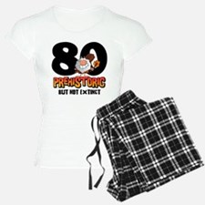 Prehistoric 80th Birthday Pajamas