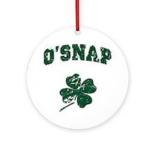 O'Snap Ornament (Round)