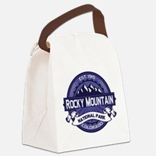 Rocky Mountain Midnight Canvas Lunch Bag