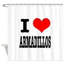 ARMADILLOS.png Shower Curtain