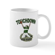 personalized Grid iron footballer Mug