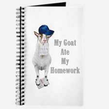 GOAT Ate Homework Journal