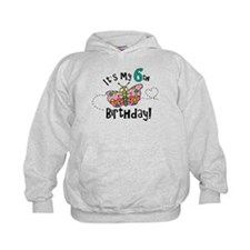 Butterfly Birthday Sixth Hoodie