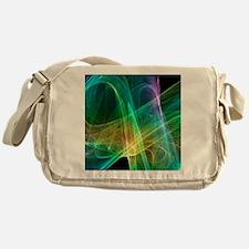 Strange attractor, artwork - Messenger Bag