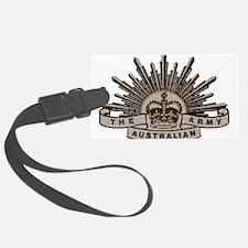 Australian Army badge e4 Luggage Tag