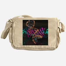 Tata binding protein with DNA - Messenger Bag