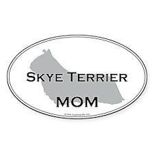 Skye Terrier MOM Oval Decal